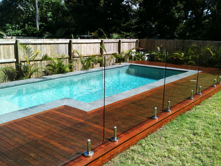 Glass Pool Fencing Hi Liner