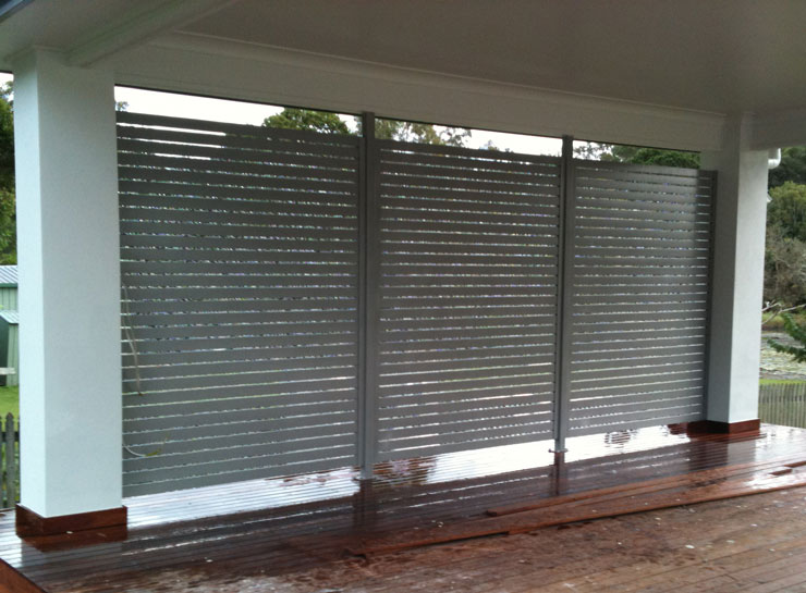 Slatted Privacy Screens By Hi Liner Pool Fencing Brisbane